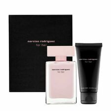Narciso Rodriguez For Her 2pc Set 50ml de toilette- 7.5ml vaporisateur