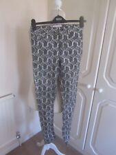 Très bon état J.W. Anderson x Topshop Black & White Zebra Print Skinny Jeans Size 8 l29