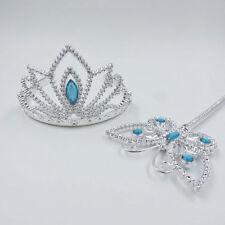 Fashion Girls Cinderella Elsa Tiaras Hairpins Crown Princess Sticks Hair Band