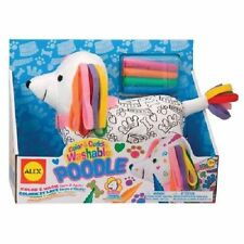 New ALEX Toys Craft Color & Cuddle Soft Poodle Toy - Free Shipping