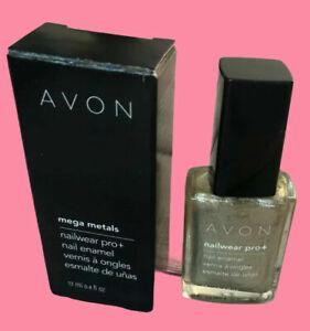 AVON NAIL POLISH GEL FINISH 7 IN 1- True Color Pro+ Nail Enamel - Speed Dry +30
