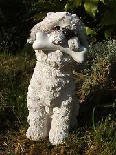 MOLDE DE LÁTEX MOLDE MOLDES. Shih-Tzu perro grande con un hueso