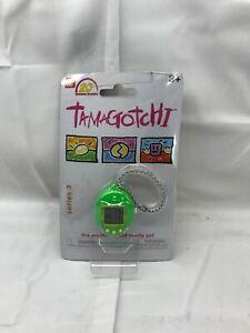 NEW - Bandai Tamagotchi 20th Anniversary Series 3 GREEN & YELLOW Virtual Pet