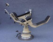 Antiker ADAMS Zahnarzt Arzt Friseur Tätowierer Stuhl Barber Chair Industriedesig