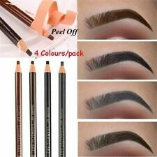4Pcs Eyebrow Pencil Microblading Outlining Marking Pen Brow Liner Peel- Off  Kit