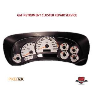 03-07 Hummer H2 Pixeltek Instrument Cluster Repair Service