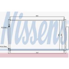 Nissens Kondensator, Klimaanlage Honda Civic Ix,Civic IX Tourer 940446 Honda