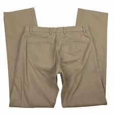 Apolis Global Citizen Mens Brown Flat Front Pockets Utility Chino Pants 29 x 33