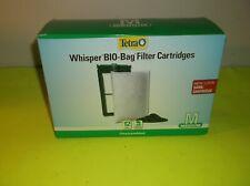 (12) TETRA WHISPER BIO-BAG FILTER CARTRIDGES UNASSEMBLED MEDIUM