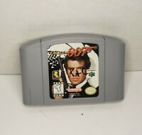 GoldenEye 007 (Nintendo 64, 1997) N64 Game Cartridge Authentic Free Shipping!