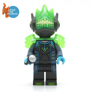 Genuine Lego Vidiyo Alien Singer Minifigure (vid031) + Mic Acessory from 43115