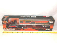 Harley-Davidson International Prostar Semi With Van Trailer  By DCP 1/50th Scale
