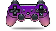Skin for PS3 Controller Smooth Fades Pink Purple CONTROLLER NOT INCLUDED