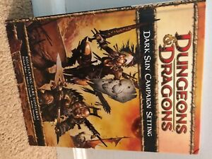 Dark Sun Campaign Setting - Dungeons & Dragons (4e) hardcover