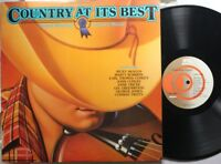 Soundtrack Lp Various Artists Country At Its Best On K-Tel