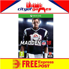 Madden NFL 18 Xbox One Game New & Sealed Free Express Post Pre Order