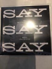"PAUL McCARTNEY FT MICHAEL JACKSON ""SAY SAY SAY 2015 REMIX"" RARE CD PROMO"