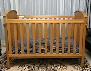 Boori Country Collection cot and Boori mattress - like new, good condition