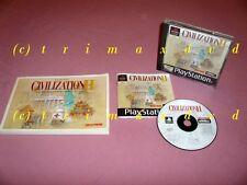 Ps1 _ Civilization II & solución libro _ primera edición _ 1000 juegos adicionales en la tienda