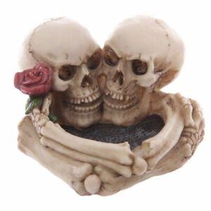 Gruesome Gothic Skull Lovers Ashtray
