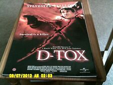 D TOX (Sylvester Stallone) Movie Poster A2