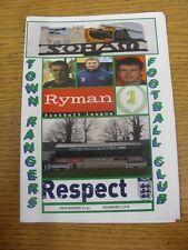 23/09/2011 Soham Città Rangers V Brentwood CITTA' . grazie per la visualizzazione di questo oggetto,