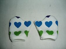 """Valentine Mittens Fits American Girl Dolls 18"""" Doll Clothes Hearts"""