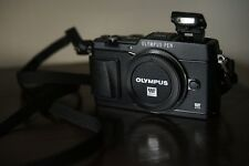 US // Olympus PEN E-P5 EP5 Digital Camera Body // Black