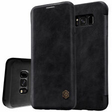 For Samsung Galaxy Note 8 S8 Plus Shockproof Flip Card Slot Wallet Leather Case