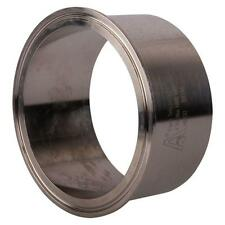"Tank Weld Ferrule | Tri Clamp 4"" x 53.98mm - Sanitary Steel SS304 (2 Pack)"