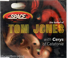 SPACE with CERYS of CATATONIA - THE BALLAD OF TOM JONES cd1 (4 track CD single)