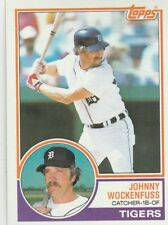 FREE SHIPPING-MINT-1983 Topps Baseball Card #457 Milt Wilcox DETROIT TIGERS