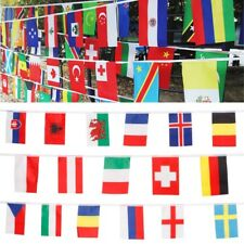 International String Banners 100 Countries Flags Garland For Bar Party Events