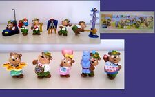 KINDER 1998 ITA- SET COMPLETO I LUNAPARK + 1 CARTINA