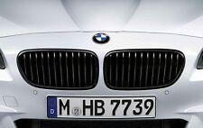 Original BMW M PERFORMANCE Ziergitter Nieren 5er F10 schwarz 2165528 + 2165539