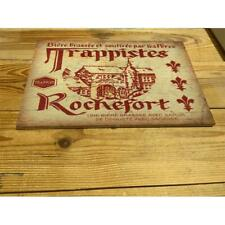 Rochefort Trappist Belgian BEER PUB BAR   ENAMEL / CERAMIC WALL SIGN