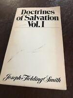 Doctrines of Salvation Volume I LDS Mormon Scripture Joseph Fielding Smith Book