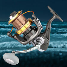 Gappless Spinning Fising Reels,Metal Casting Fishing Spinning for Freshwater