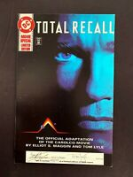 TOTAL RECALL MOVIE SPECIAL DC SIGNED BY MAGGIN LYLE MOVIE ADAPTATION 4464 OF 5K