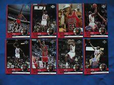 1999 2009/10 Tribute to Michael Jordan, Michael Jordan Legacy cards NBA $1 S&H