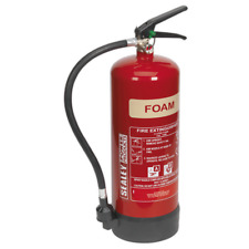 SFE06 Sealey 6ltr Foam Fire Extinguisher [Fire Protection] Fire Extinguishers