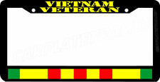 VIETNAM VETERAN service ribbon Viet Nam war veteran License Plate Frame