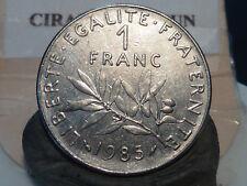 CIRA(PP) -  1 FRANC - SEMEUSE - 1985 - RECHERCHEE & QUALITE SUP à SUP+ !