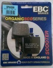 Yamaha EW50 Slider (2000 to 2005) EBC Organic FRONT Disc Brake Pads (SFA268)