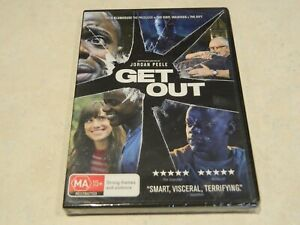 Get Out DVD [Directed by Jordan Peele] {Brand New}