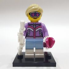 "LEGO Collectible Minifigure #8833 Series 8 ""DOWNHILL SKIER"" (Complete)"