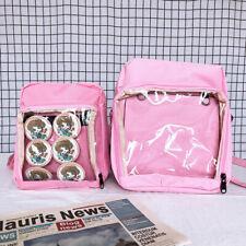 Japan Transparent Itabag Shoulder Bag Messenger Bag for Dango Badge Doll Show