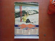 Calendario Garaje Pegamento -colombes 1956 Aire