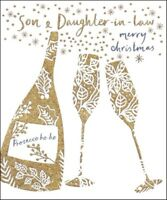 Son & Daughter-In-Law Emma Grant Christmas Greeting Card Beautiful Cards