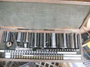 keyway broach set dumont 1/8-3/8 with bushings